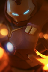 """Hulk Smash? Typical."" (ElDave) Tags: actionfigure toy toys macro ironman hulkbuster disney infinity"