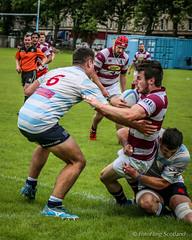 Edinburgh Accies v Watsonians (FotoFling Scotland) Tags: edinburgh men sport accies edinburghaccademicalfootballclub game male match players rfc rugbyraeburnplace watsonians
