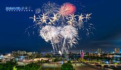 NDP 2016 Fireworks #3 - 9th July 2016 (Samuel.Dai) Tags: tourism skyline nikon fireworks parade fisheye ndp 15mm hdr touristattraction d800 nationalday singaporeriver nationalstadium 2016 lowlightphotography longexposurephotography cityscapephotography singaporeindependence samueldai