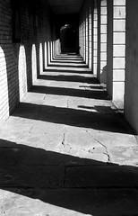 somewhere in london (AldonaFraczek) Tags: urban geometry black paintingwithlight lines light monochrome blackandwhite