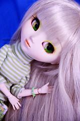 Hana | Pullip Paja (Kumo~Milk^^) Tags: 2005 original doll eyelashes hana groove pullip paja obitsu junplanning