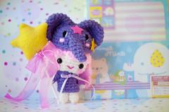 lala❤ (sugarelf) Tags: elelphanthats sanrio littletwinstars crochet amigurumi toy plush handmadebyme cute kawaii characters yarn craft felt elephant