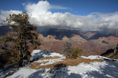 Grand Canyon 2014 (sensaos) Tags: grand canyon winter snow united states vs verenigde staten america sensaos travel 2014 arizona nature park national landscape