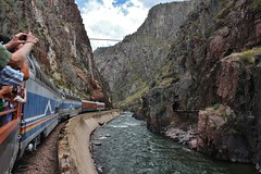 The beauty of the Gorge (gsebenste) Tags: royalgorgerailroad canoncity colorado nrhs