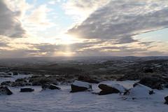 Dartmoor (sparksy2k14) Tags: sun snow clouds canon landscape eos devon 7d fields dartmoor