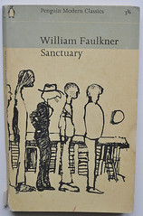 William Faulkner: Sanctuary (alexisorloff) Tags: penguin books faulkner livres penguinbooks williamfaulkner andrfranois vintagecovers livresdepoche alexisorloff couverturesillustres