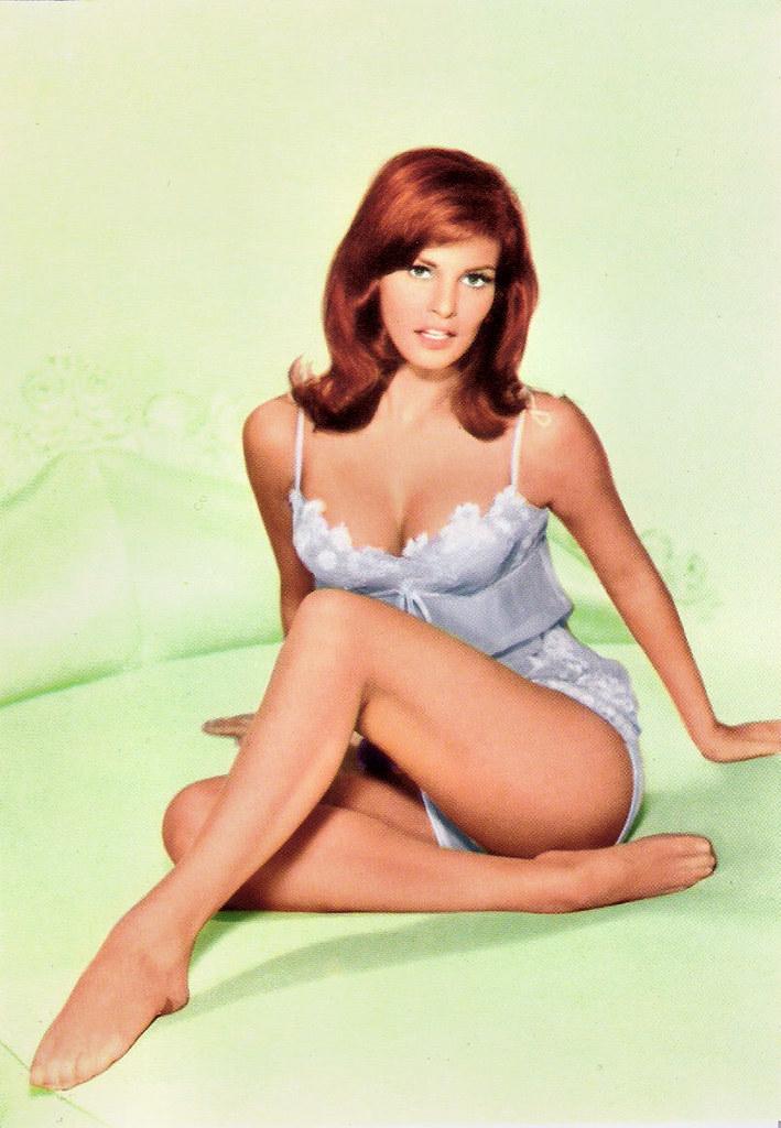 American actress and sex symbol raquel welch poses in a bikinil show adanih com