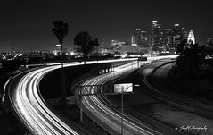 JP_20140405_2_1.jpg (jacobphotography2013) Tags: cityscape nighttime lighttrails 5freeway downtownlosangeles 101freeway whitewomenupload