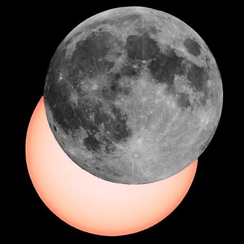 Full Moon At Solar Eclipse!?