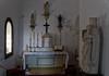 Capela de São Nuno (Eduardo Estéllez) Tags: color portugal horizontal religion jesus esculturas iglesia altar santos alentejo estatua velas cristiano historia antiguo evora catolico nadie capilla crucifijo virgenmaria sagrario sanjuanevangelista loios eduardoestellez estellez