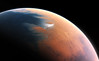 Artist?s impression of Mars four billion by European Southern Observatory, on Flickr