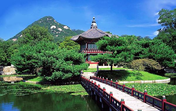 Hàn Quốc có rất nhiều khung cảnh thơ mộng và lãng mạn
