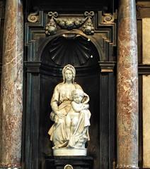 Madona and Child Bruges  310 (saxonfenken) Tags: 310 friendlychallenges madonaandchils michelangelo bruges belgium statue sculpture famous gamewinner 310bruges challengeyouwinner