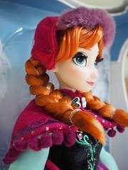 Disney LE Anna (sh0pi) Tags: anna snow frozen inch doll gear disney le 17 limited edition disneystore puppe winteroutfit eiskönigin