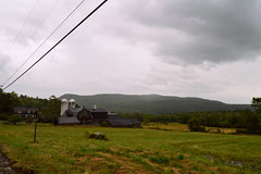 Farm Life (emily.cerra) Tags: mountains barn highway relaxing newhampshire silo grassland carride sideoftheroad