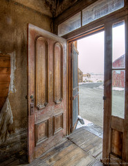 Miller House Door (stephencurtin) Tags: california park house town state ghost miller bodie thechallengefactory