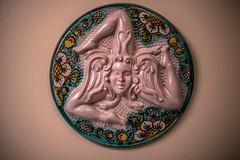 Triskelion (artkeh) Tags: bathroom sicilia triskelion canonef50mmf14usm