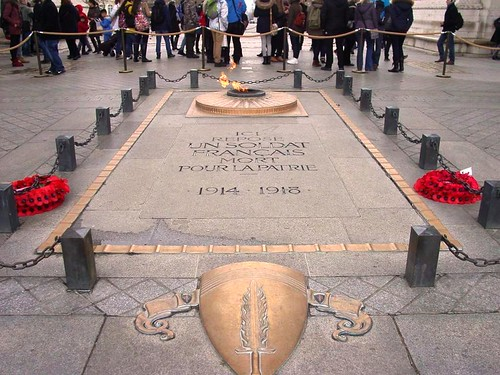Tomb of the unknown soldier-Paris