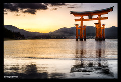 ≋ The great torii of Itsukushima Shrine ≋ (Alexander.Weichsel.Photography) Tags: world travel summer travelling nature japan landscape japanese ancient niceshot view ngc culture buddhism best hiroshima miyajima national 日本 nippon tradition shinto inspire japon 厳島神社 geographic nihon japani itsukushima 2014 japón 広島 일본 honshu shintoism 2015 日本三景 日本国 宮島町 本州 nikond610