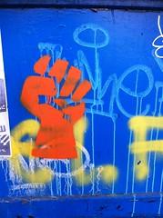 Street art in Sofia (..AikiDude..) Tags: streetart spring stencil sofia bulgaria april traveling 2015 tzarshishmanstreet