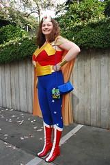Wonder Woman! (OnceAndFutureLaura) Tags: dc dccomics eccc eccc2015 2015emeraldcitycomicon