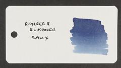 Rohrer & Klingner Salix - Word Card