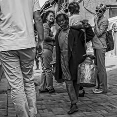 Lost In Time (Culture Shlock) Tags: street people men portraits work lost time jobs streetportrait timetravel oldandnew trades cultureclash