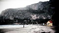 Mondello d'inverno (Angelo Trapani) Tags: winter mare palermo inverno spiaggia sabbia mondello