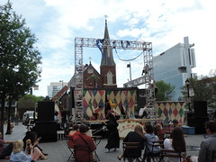 A Mobile Performance Stage w/ UNC Charlotte