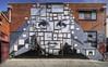 Framed (J-C-M) Tags: street city urban streetart art wall painting graffiti artwork paint grafitti artistic australia melbourne wallart victoria spray inner aerosol jinks dubiz