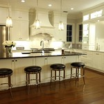 Custom Kitchen/Custom Island Celebration : Designed by: JT Majestic Custom Woodworks  Decor provided by others