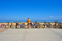 Boardwalk  4-18-15 024 (cbonney) Tags: ocean beach virginia sand atlantic bicycles boardwalk