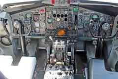 B707-321 VP-BDF cockpit (shanairpic) Tags: boeing707 b707 jetairliner dromod vpbdf