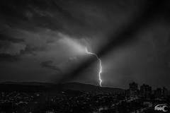 Thor is upset (Fippo Gomes) Tags: storm rain brasil canon blackwhite br sopaulo chuva pb tempestade raio eosm efm22mmf2stm