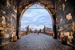 Prague, Czech (Pawelus) Tags: travel bridge czech prague praha czechrepublic lapinski