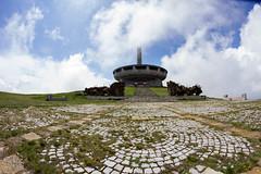 The Buzludzha Monument (dimitrov.maksim) Tags: abandoned monument canon bulgaria samyang 60d buzludzha