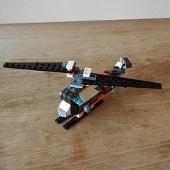 DSCN6354 (alfa145q_lego) Tags: robot lego mecha rebuild alternate 31034 31033 31032 legocreator vehicletransporter redcreatures futureflyers