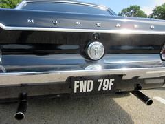 Mustang Tail pipes .... * (John(cardwellpix)) Tags: uk ford june corner sunday surrey mustang guildford 5th newlands 68 albury 2016 merrow