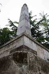 "il parco dei sensi  #morrodalba #italy #clod #giornatedifotografia #sensi #enricoprada #canon #parco #obelisco (claudio ""clod"" giuliani) Tags: italy canon clod sensi morrodalba giornatedifotografia"