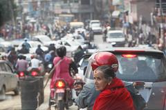Traffic (Mark S Weaver) Tags: kathmandu nepa
