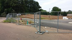 Fenceline Conundrum (Retail Retell) Tags: kroger marketplace v478 hernando ms desoto county retail construction expansion project