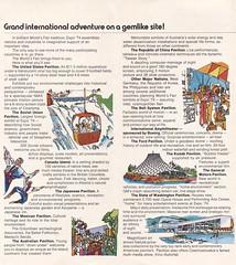Expo '74 World's Fair - Spokane, Washington (The Cardboard America Archives) Tags: vintage 1974 spokane brochure worldsfair expo74 washinhyon