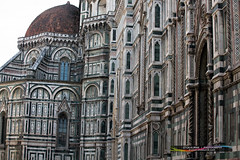 Outside of Duomo (Iztok Alf Kurnik) Tags: travel wallpaper italy building art tourism church beautiful architecture buildings florence italia postcard religion it tourist tuscany cupola architcture firenze duomo toscana touristattraction toscany travelguide florencecathedral travelphotography firence travelitaly traveltheworld cattedraledisantamariadelfiore architectureart traveltourism duomoflorencecathedral iztokkurnik