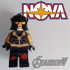 Nova (Sam Alexander) (FxanderW) Tags: nova lego decal superheroes custom marvel moc samalexander blacknova thehumanrocket maynifigure