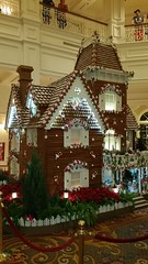 20151229_211323 (arctic_whirlwind) Tags: christmas disney disneyworld gingerbreadhouse waltdisneyworld grandfloridian