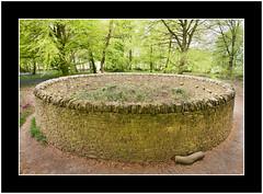 Stone Circle (SFB579 Namaste) Tags: park color art stone wall modern woodland circle woods nikon yorkshire round wakefield around walls circular modernist stonecircle parkland yorkshiresculpturepark managed