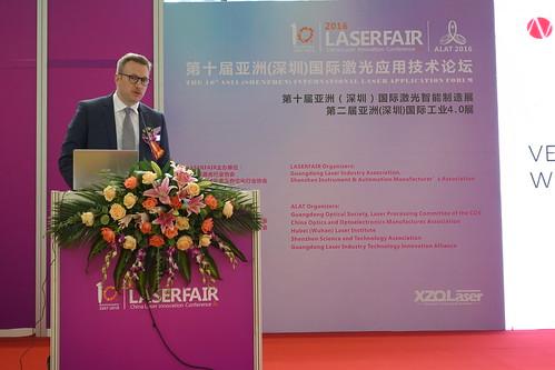 Erik Boettcher EU-Asia Laser Industry Summit 2016