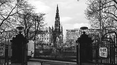 steeple (xlowmiller) Tags: city urban building scotland gate edinburgh steeple
