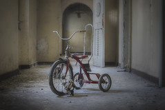 Enjoy The Ride (Opiesse) Tags: abandoned bike decay tricycle urbex
