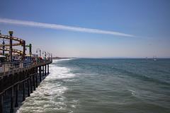 Looking Off to the Left (etzel42) Tags: ocean california santa ca pier santamonica socal monica boardwalk westcoast